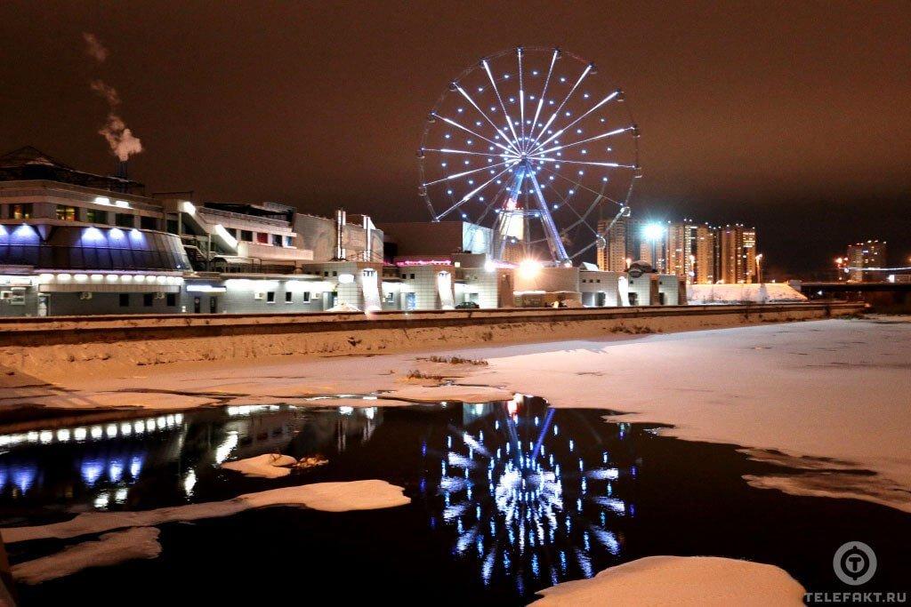 Колесо обозрения в Челябинске