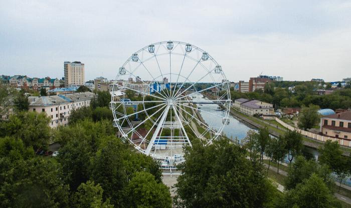 колесо обозрения в Иваново